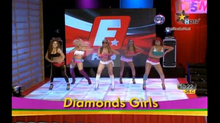 "Las Diamonds Girls? [Bailando ""Breathe"" de miss A]"
